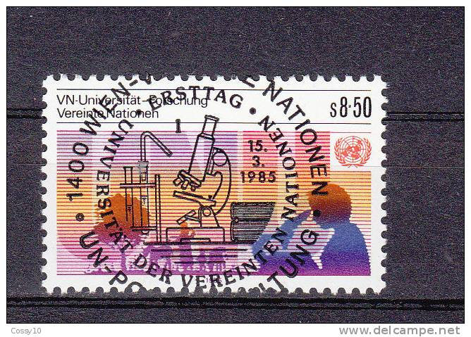 NATIONS  UNIES  VIENNE   1985   OBLITERATION  CENTRALE - Centre International De Vienne