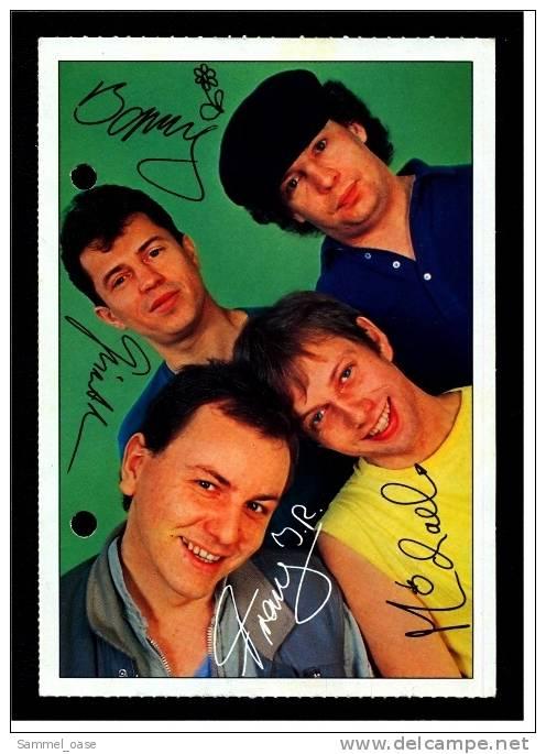 Alte Reproduktion Autogrammkarte  -  Spider Murphy Gang   -  Von Ca. 1982 - Autogramme