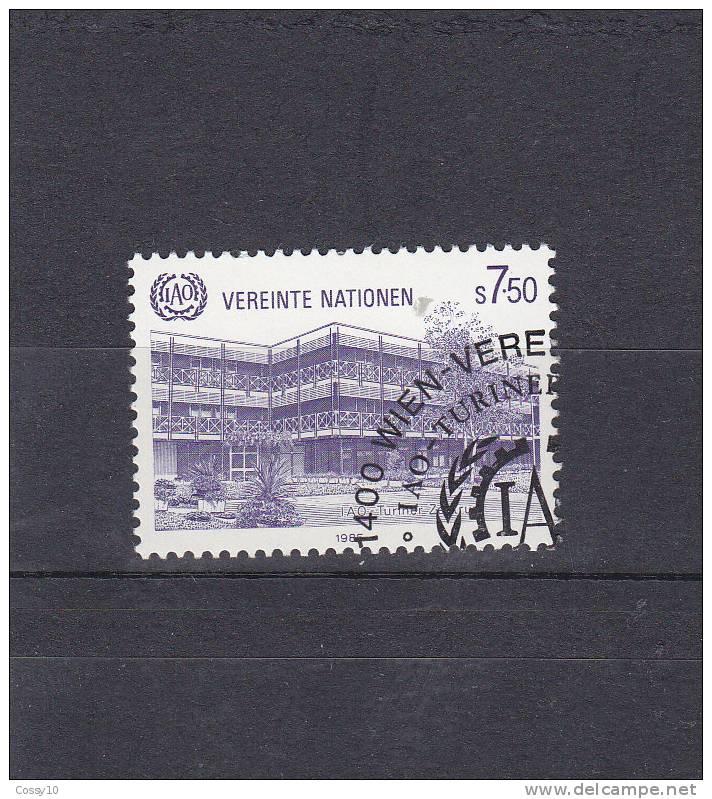 NATIONS  UNIES  VIENNE   1985  N° 47   OBLITERE - Centre International De Vienne