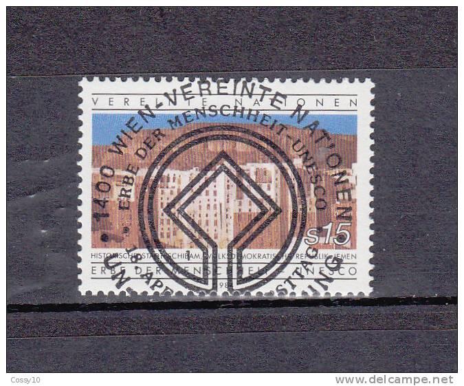 NATIONS  UNIES  VIENNE   1984    N° 42    OBLITERATION CENTRALE    CATALOGUE YVERT - Centre International De Vienne