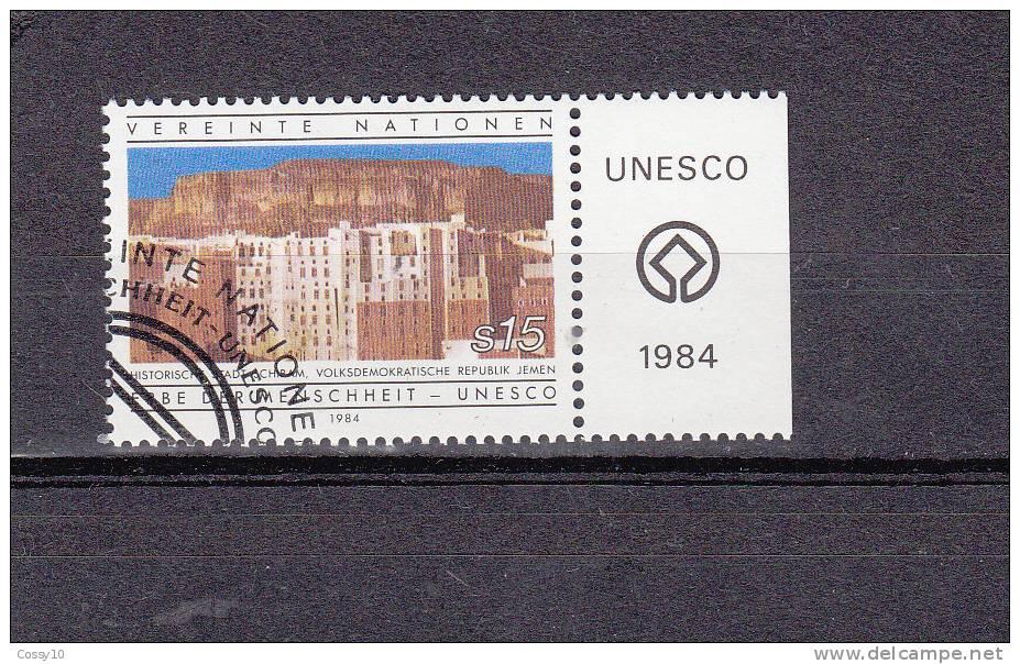 NATIONS  UNIES  VIENNE   1984    N° 42    OBLITERE    CATALOGUE YVERT - Oblitérés