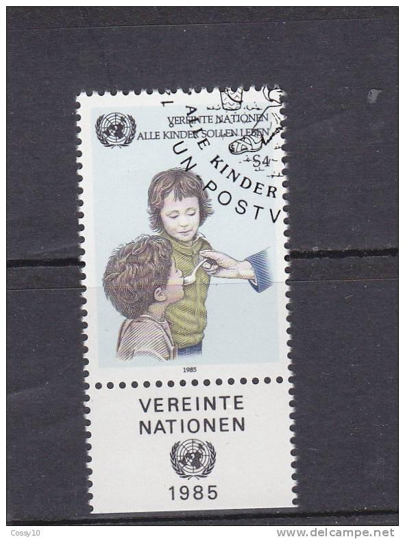 NATIONS  UNIES  VIENNE   1985    N° 53    OBLITERE     CATALOGUE YVERT - Centre International De Vienne