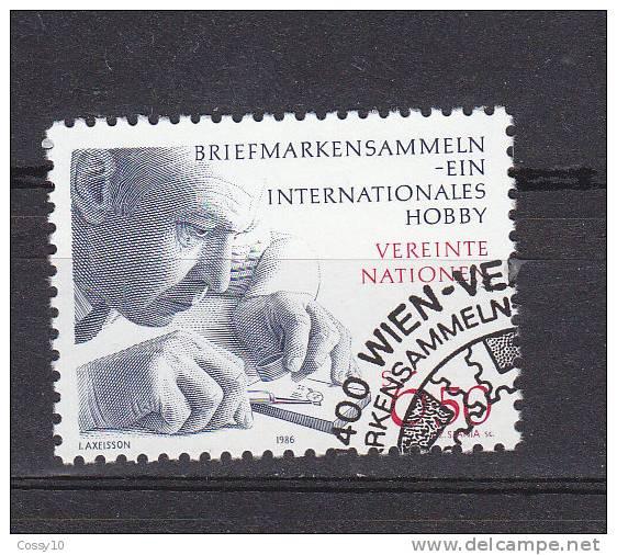 NATIONS  UNIES  VIENNE   1986    N° 61   OBLITERE     CATALOGUE YVERT - Centre International De Vienne