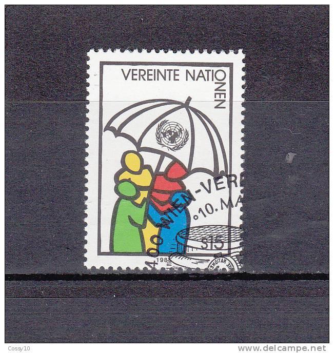 NATIONS  UNIES  VIENNE   1985    N° 50   OBLITERE     CATALOGUE YVERT - Centre International De Vienne