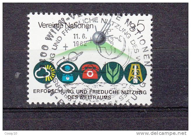 NATIONS  UNIES  VIENNE   1982    N° 26   OBLITERATION CENTRALE    CATALOGUE YVERT - Centre International De Vienne