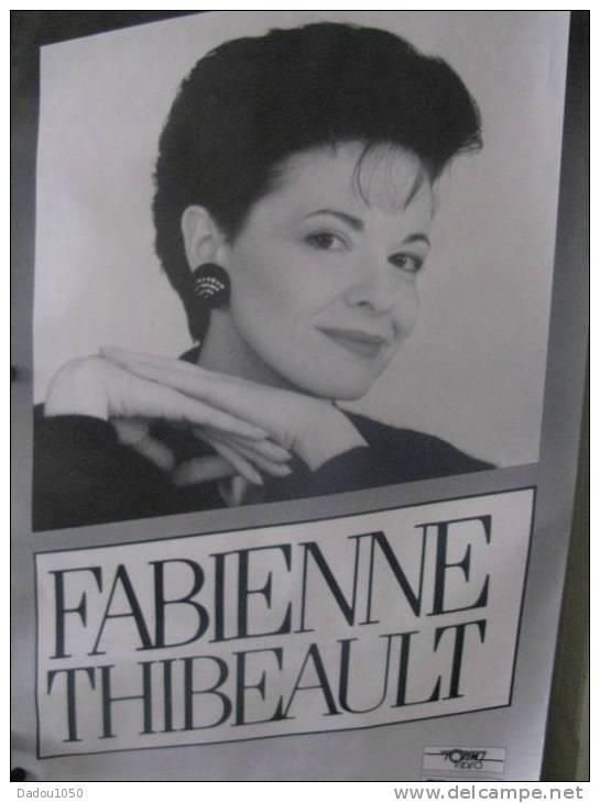 Chanteuse FABIENNE THIBEAULT - Plakate & Poster