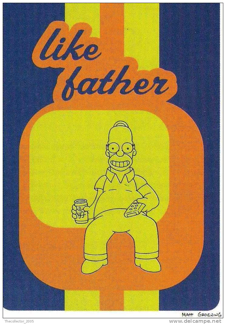 Figurine Panini-The Simpsons (1999)-n.48 : NUOVA/MAI INCOLLATA/OTTIMA - Panini