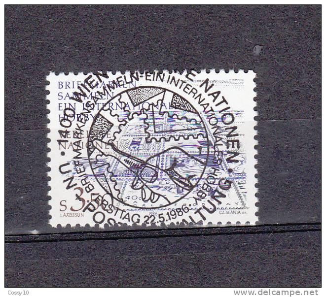 NATIONS  UNIES  VIENNE   1986    N° 60   OBLITERATION  CENTRALE    CATALOGUE YVERT - Centre International De Vienne