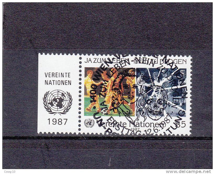 NATIONS  UNIES  VIENNE   1987    N° 71   OBLITERATION  CENTRALE    CATALOGUE YVERT - Centre International De Vienne