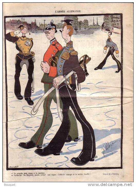 REVUE LE RIRE - MAI 1904 - N° 68 - ILLUSTREE PAR FAIVRE , OSTOYA , BAC , ETC .. - CIRQUE - GUILLAUME II - Livres, BD, Revues