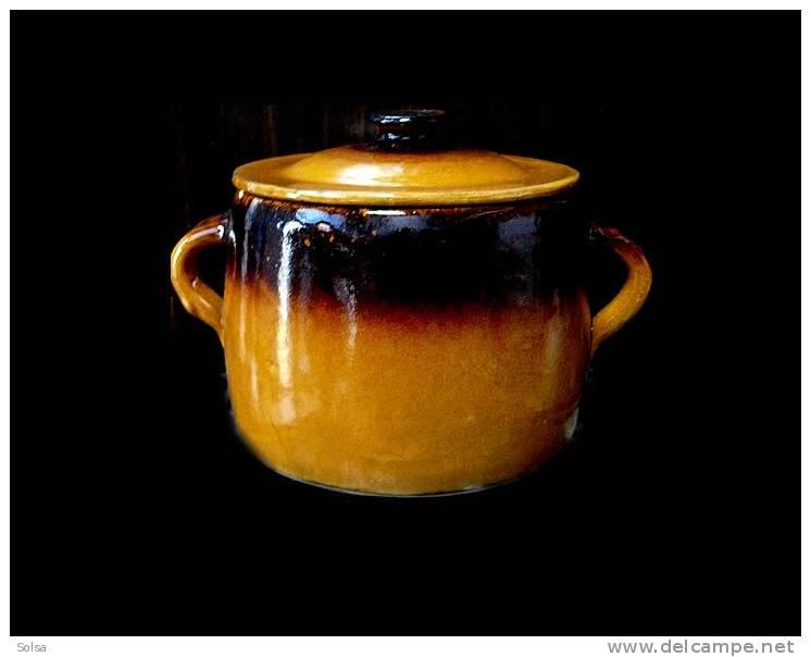 Marmite En Céramique - Art Populaire