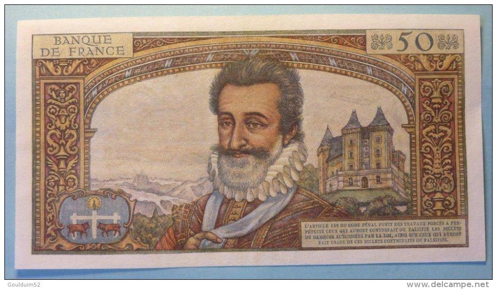 50 Nouveaux Francs  5.11.1959     Henri IV - Non Classés