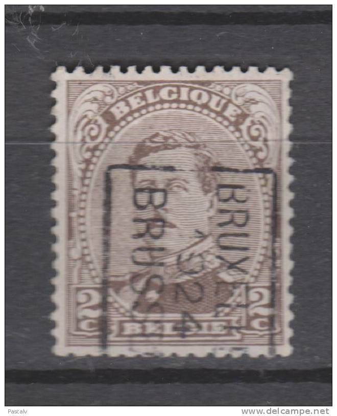 COB 136 Année 1924 Bruxelles - Brussel - Vorfrankiert
