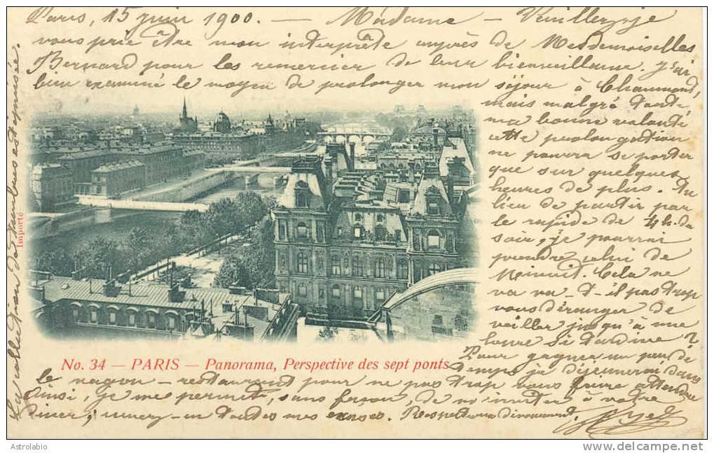Vignette Palais De L'Esplanade Des Invalides 1900 France Sur Carte, Voyage Voir 2 Scan - 1900 – Paris (Frankreich)