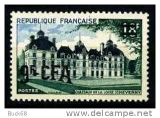 REUNION CFA Poste 316 ** MNH Le Château De La Loire De Cheverny Moulinsart TINTIN HERGE KUIFJE 2 - Reunion Island (1852-1975)