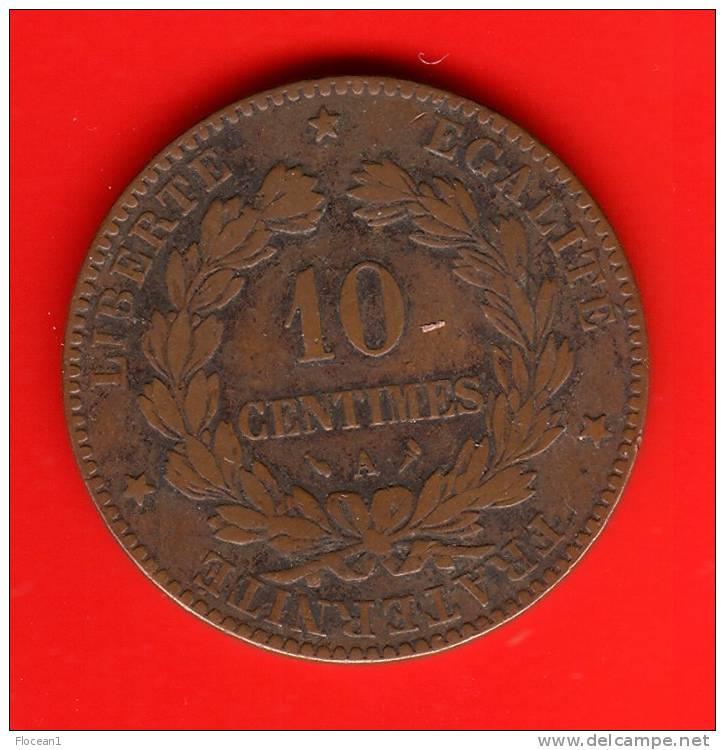 **** 10 CENTIMES 1896 A PARIS - TORCHE - CERES **** EN ACHAT IMMEDIAT !!! - D. 10 Centimes