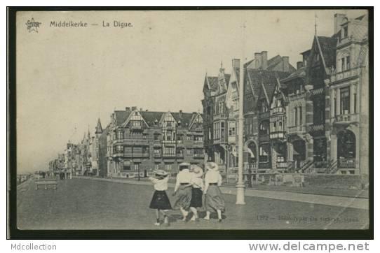 BELGIQUE MIDDELKERKE / La Digue / - Middelkerke