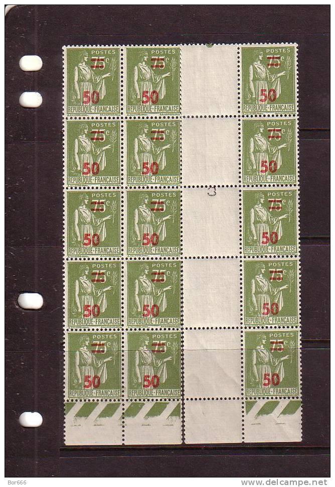 GOOD FRANCE Overprinted Block 1941 MNH - 1932-39 Paix