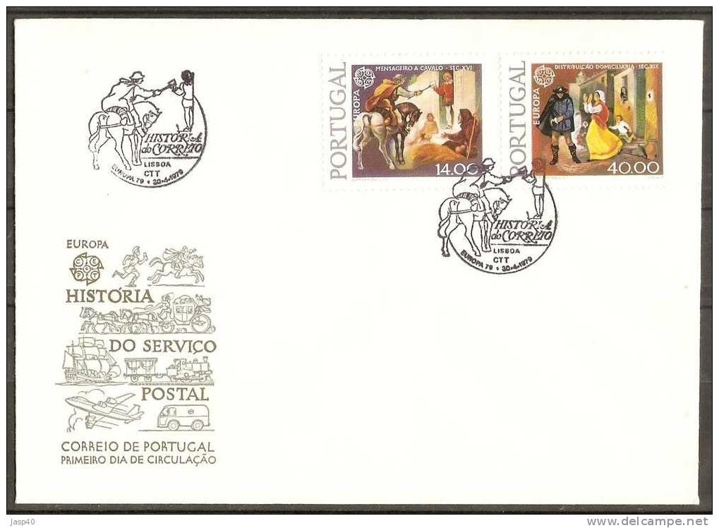 EUROPA 1979 - Storia Postale