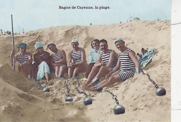 BAGNE DE CAYENNE / LA PLAGE / CPM / - Bagne & Bagnards