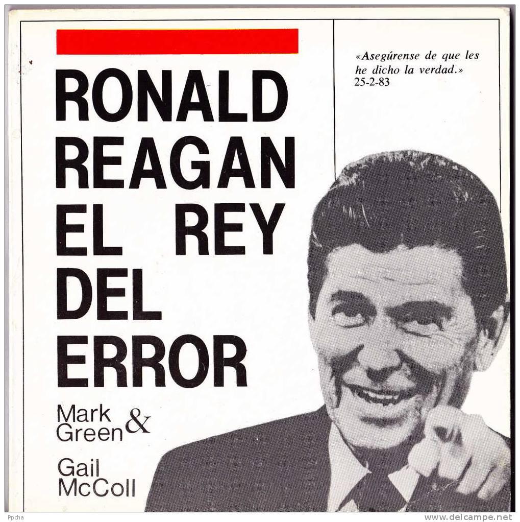 Ronald Reagan - El Rey Del Error - Gail McCoil Mac Coll - Droit Et Politique