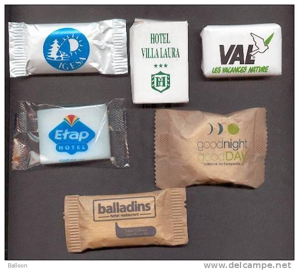 Six Savons  Sous Emballages - Kosmetika