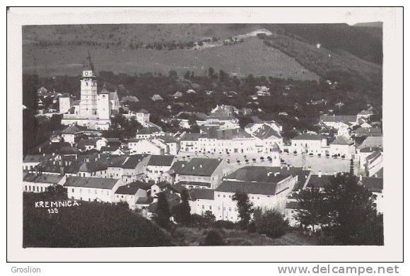KREMNICA (SLOVAQUIE) CARTE PHOTO EGLISE ET GROUPE DE MAOSONS 139 - Slovaquie