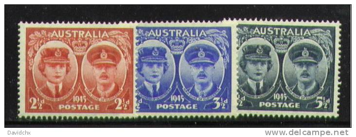 AUSTRALIA, SET, NO.´S 197-199, MNH - Used Stamps