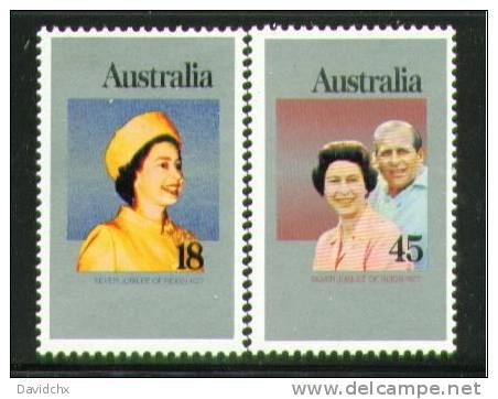 AUSTRALIA, SET, NO.´S 659-660, MNH - 1966-79 Elizabeth II