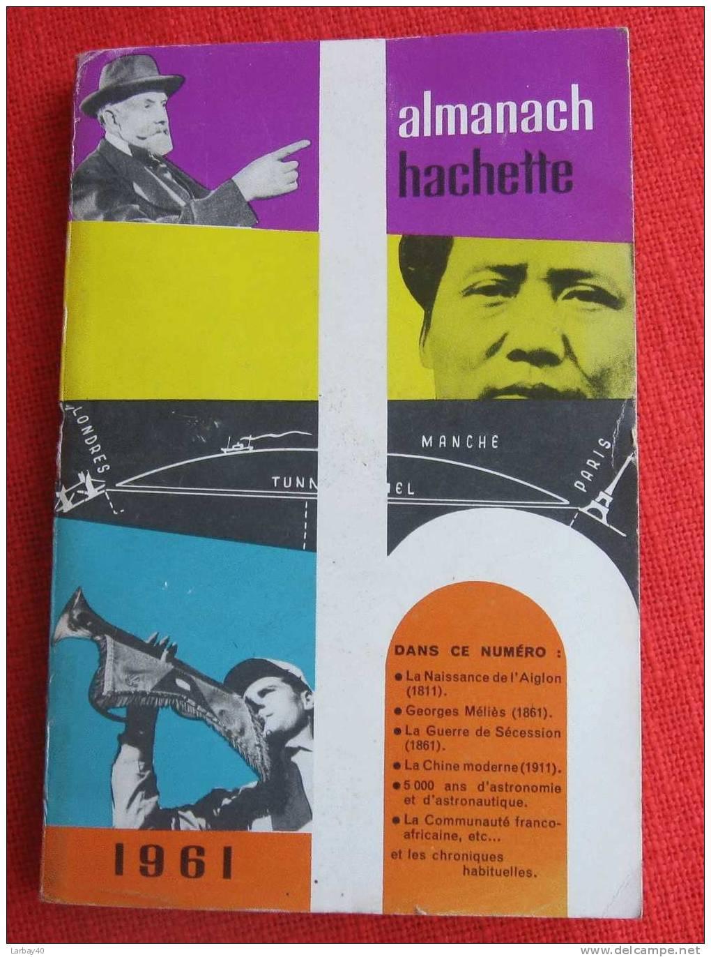 Almanach Hachette 1961 - Boeken, Tijdschriften, Stripverhalen