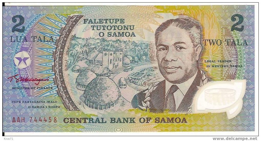 "2 TALA ""SAMOA""  UNC Polymer  Ble73 - Samoa"