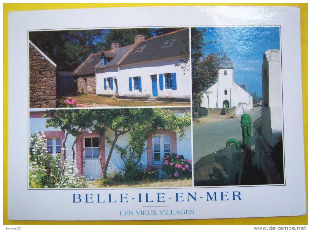 J309 56 BELLE ILE EN MER  Multi Vues LES VIEUX VILLAGES - Belle Ile En Mer