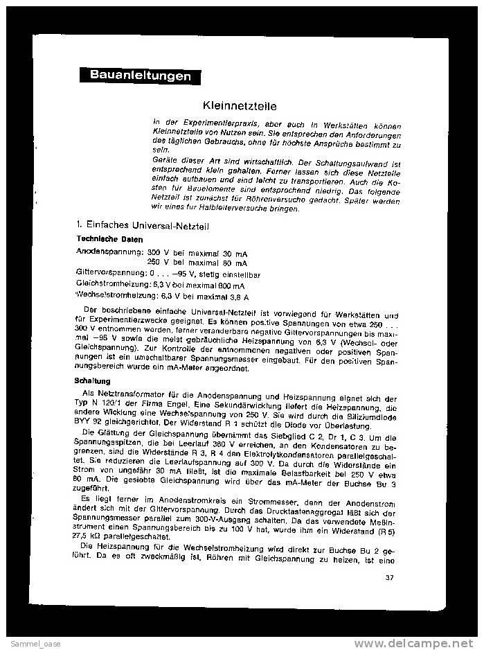 Fach - Zeitschrift  , Der Junge Radio Fernseh Und Industrie Elektroniker 1971 - Computer & Technik