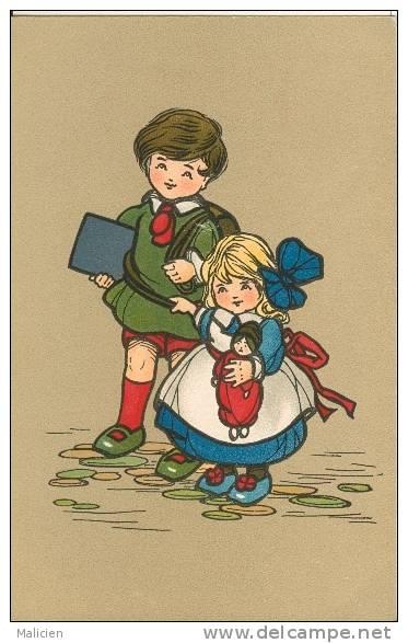 Illustrateurs - Illustrateur -ref  B577- Illustrateur  Enfants - Carte Bon Etat - - Illustrateurs & Photographes