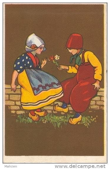 Illustrateurs - Illustrateur -ref  B498- Illustrateur Enfants- Carte Bon Etat - - Illustrateurs & Photographes