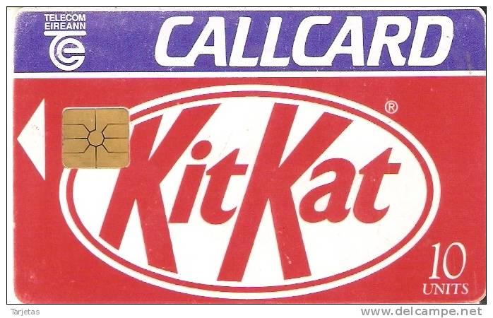 TARJETA DE IRLANDA DE KIT KAT CHOCOLATE (CHOCOLAT) - Alimentación