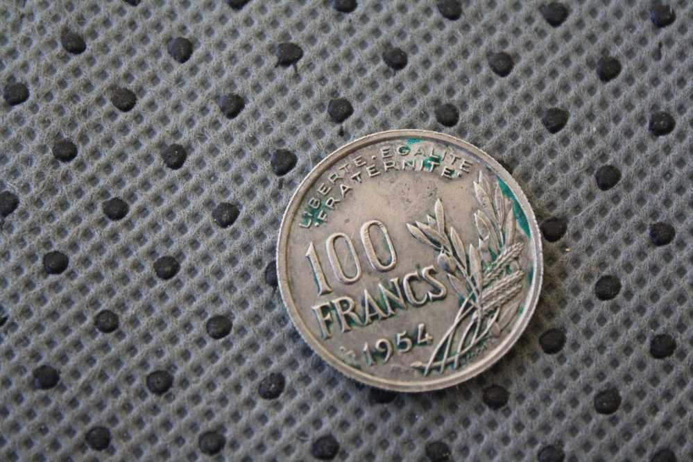 RéPUBLIQUE FRANçaise  PIèCE DE 100 FRANCS  DE 1954 - France
