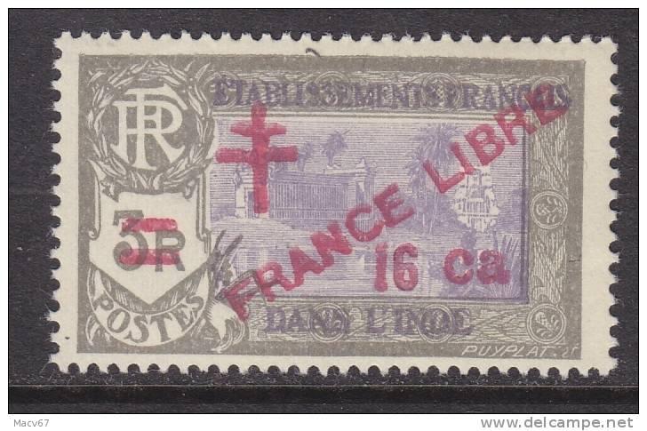 French India 205  * - India (1892-1954)