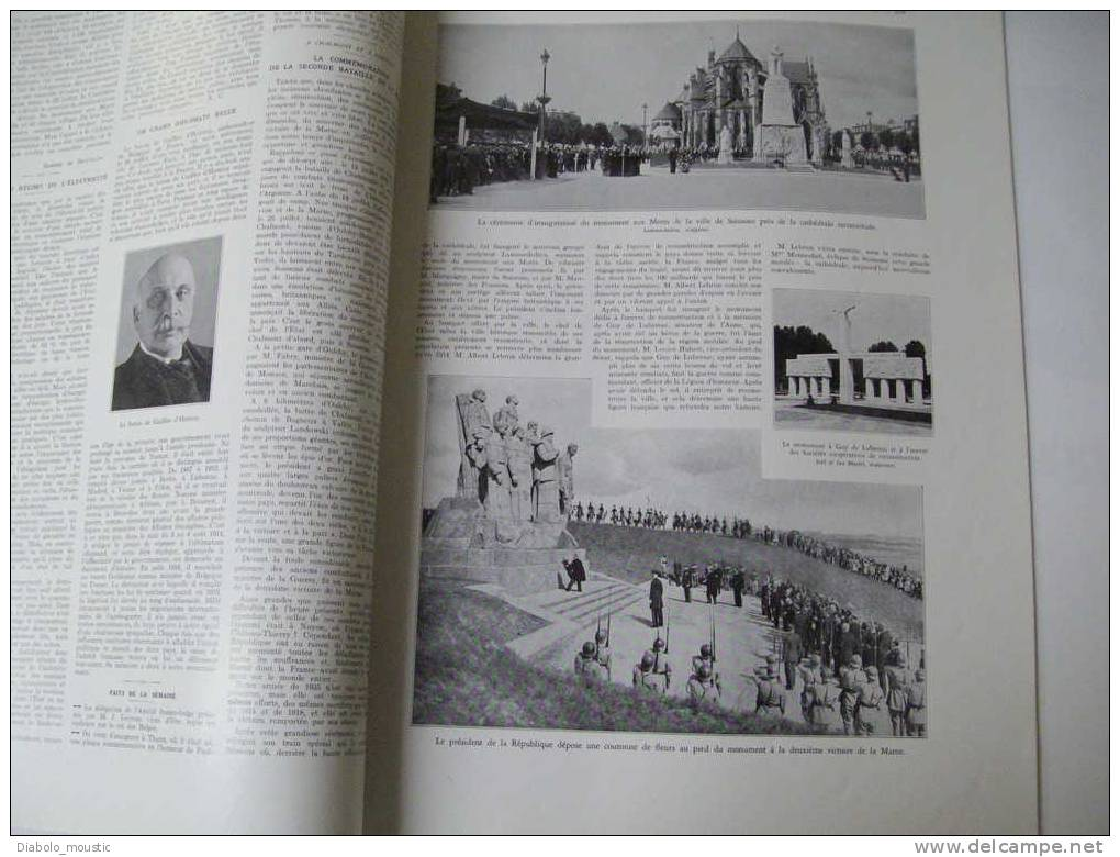 27 Juillet 1935 :Petit Traité Des GOURMANDISES GLACEES ; Comment On Peut VIVRE CENTENAIRE à L'éxemple Du Docteur Guéniot - Zeitungen