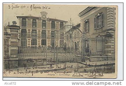 JOIGNY : Le Collège - B.J.C. Paris 7 - Joigny