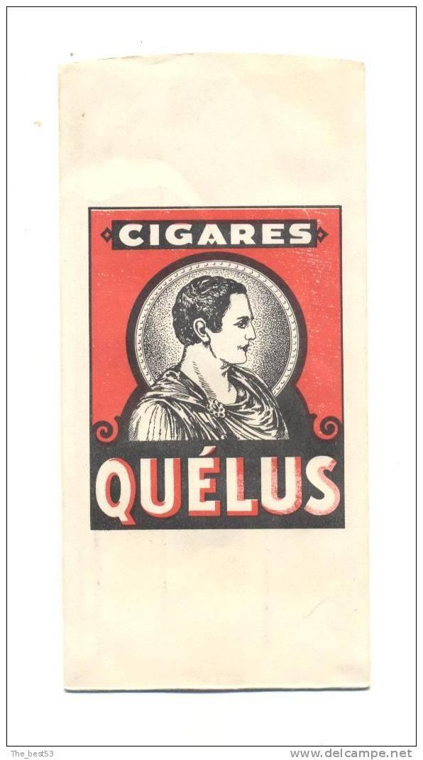 Petit  étui En Papier Pour 3 Cigares   Quélus      7.4 X 15,2 Cm - Zigarrenetuis