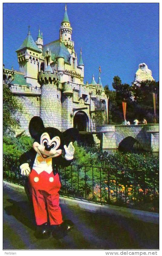 DISNEY. DISNEYLAND. MICKEY. Welcome To Fantasyland. - Disneyland