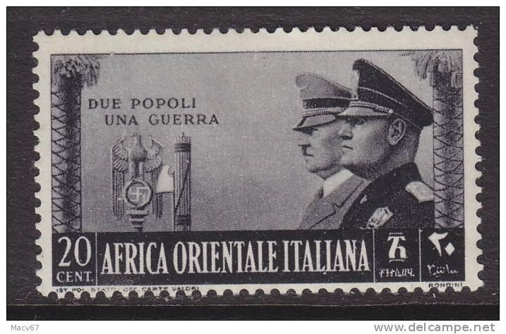 Italy Eastern Africa  36   * - Eastern Africa