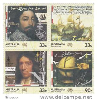 Australia-1985 Navigators MNH Block 4 - 1980-89 Elizabeth II