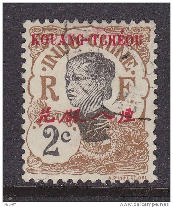 Kouang-Tcheou 19     (o) - Used Stamps
