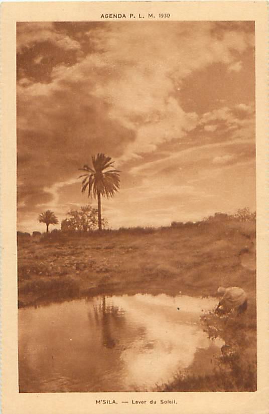 Mt SILA - Lever Du Soleil (Agenda P.L.M.  - 1930)  (J. Barreau & Cie, Paris) - Centrafricaine (République)