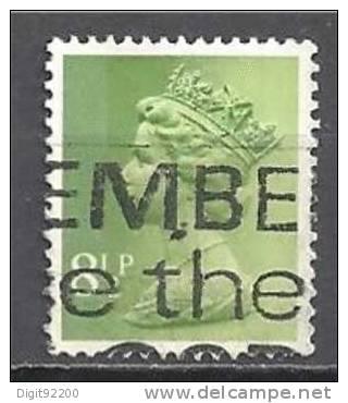 1 W Valeur Used, Oblitérée - YT 765 - GRANDE BRETAGNE * 1975/1977 - N° 1028-62 - 1952-.... (Elizabeth II)