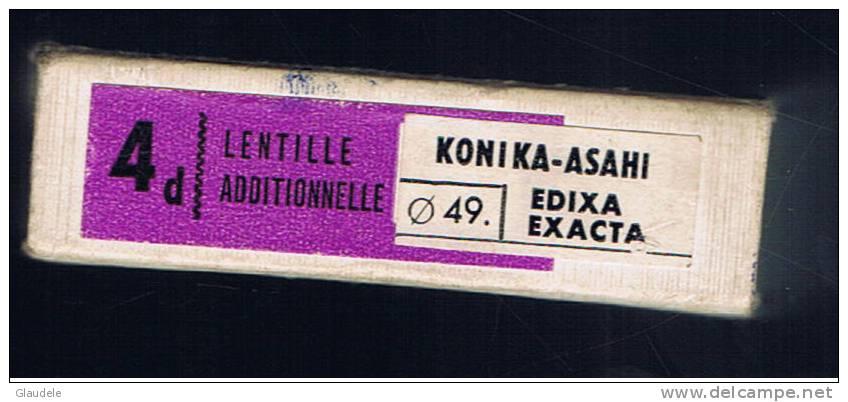 Lentille:konika Asahi - Lentilles