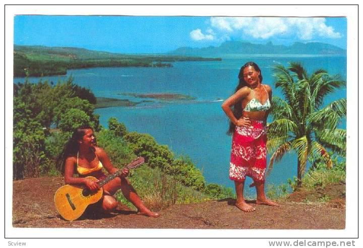Music & Dance , Tahiti , 40-60s