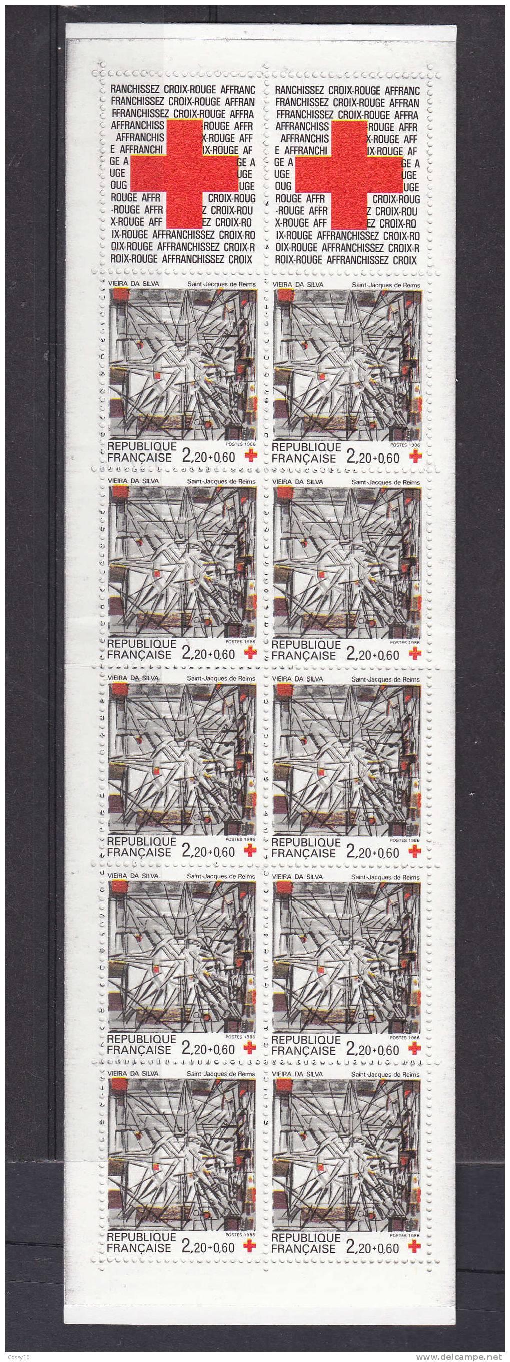 1986   CARNET   N°  2449a    NEUFS**     CATALOGUE  YVERT - Carnets